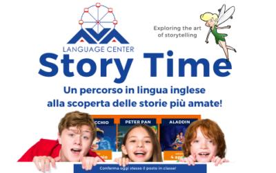 Si parte con le storie più amate da tutti raccontate in inglese!