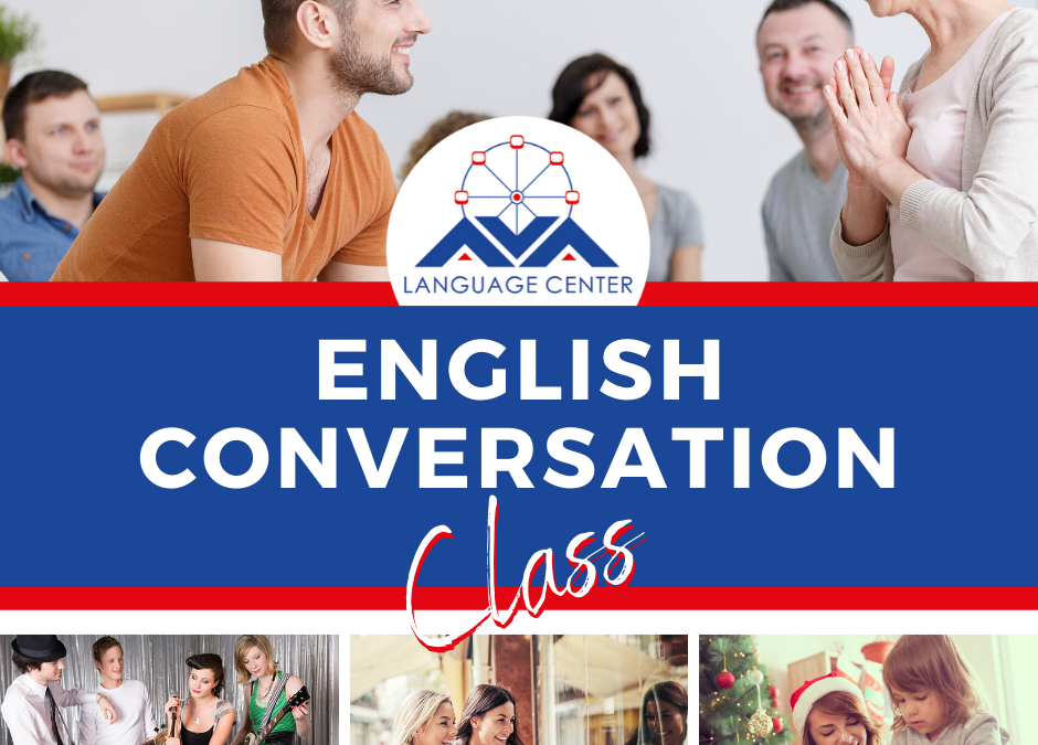 Arriva English Conversation Class!